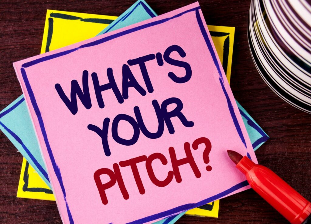 essential checklist for pitching